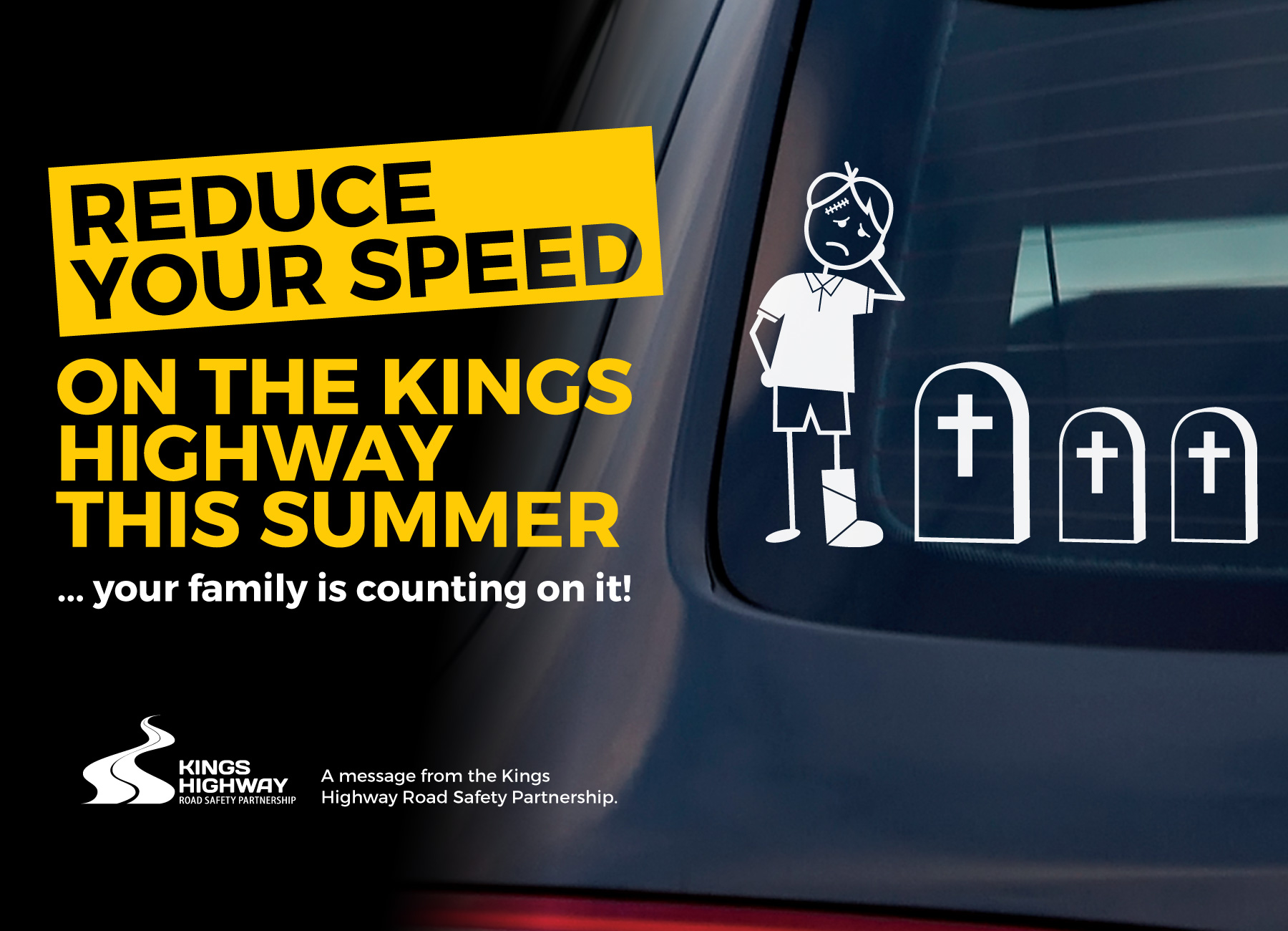 Kings Highway road safety campaign